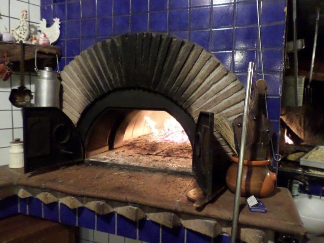 ricette toscane Il forno a legna